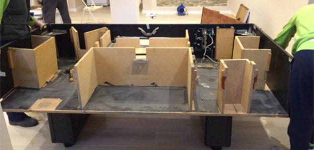 <strong> Cuidadoso montaje y desmontaje de muebles </strong>