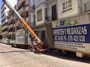 Alquiler Elevador de Muebles Córdoba - Mudanzas TSR