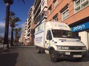 Empresa de transporte de Mercancías en Córdoba - Mudanzas TSR