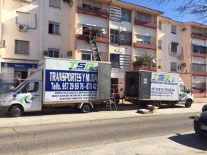 Transporte de muebles Córdoba - Mudanzas TSR