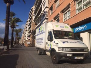 Transportes baratos Córdoba - Mudanzas TSR